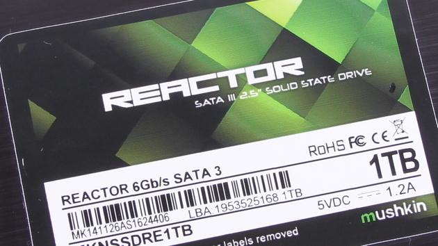 Mushkin Reactor: Günstige SSD-Serie wird komplettiert