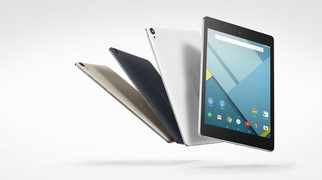 Android: Nexus 9 erhält Android 5.0.2, Nexus 7 Wifi 5.1.1