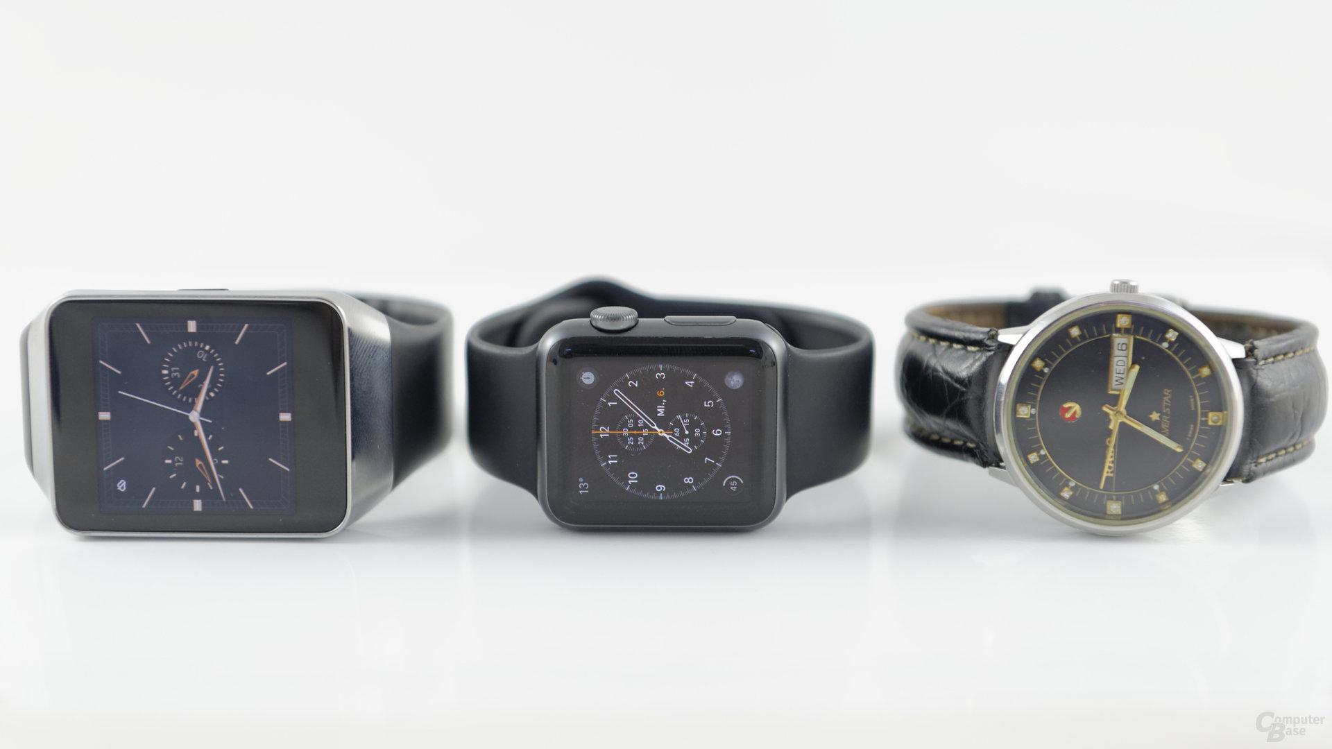 Apple Watch Sport – im Uhrenvergleich