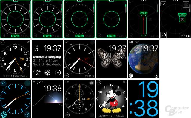 Apple Watch Sport – Individualisierung und Ziffernblätter