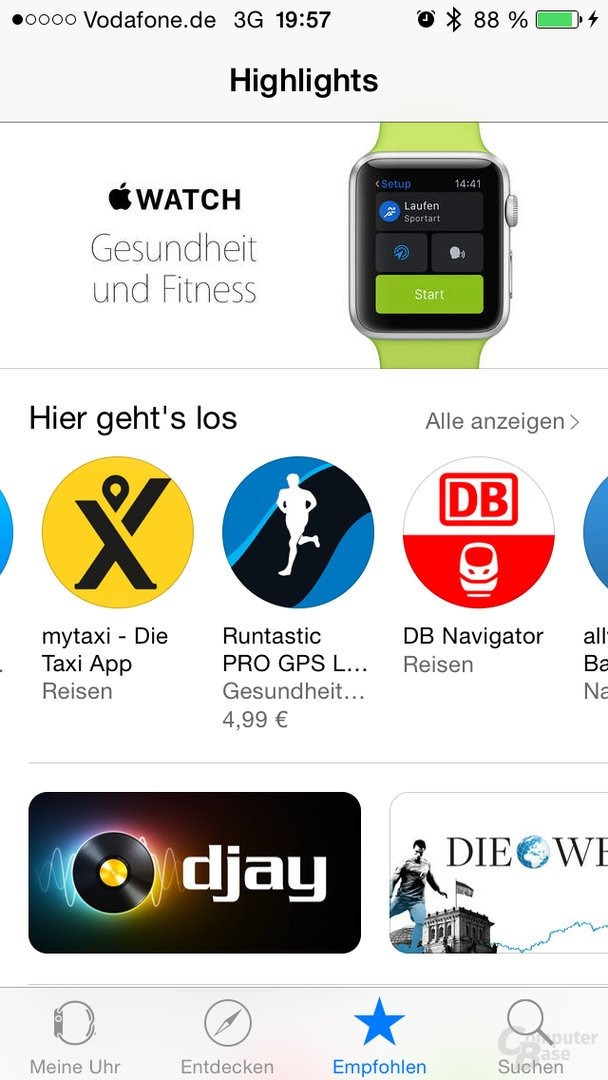 Apple Watch – App Store