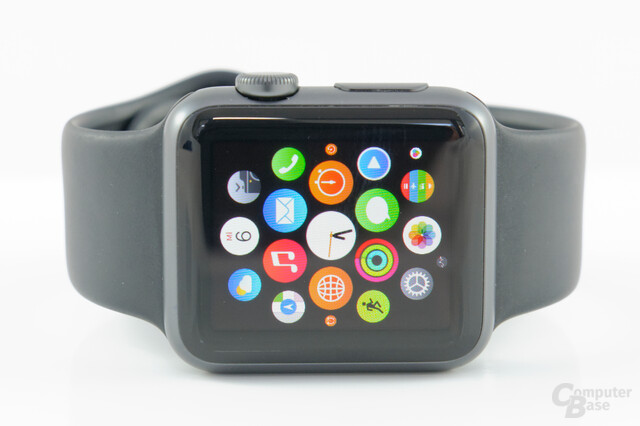 Apple Watch Sport– Display im Detail