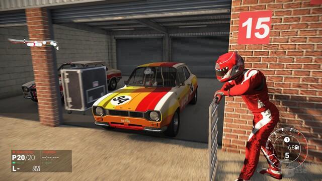 Dank des einzelnen Werkzeugkoffers die detaillierteste Garage im Spiel