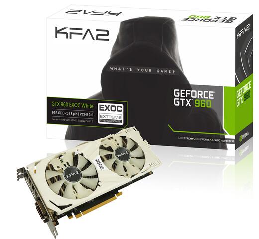 KFA² GeForce GTX 960 EXOC White Edition