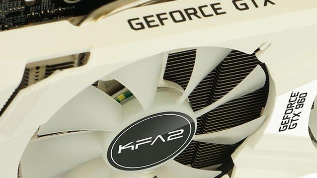 KFA²: Übertaktete GeForce GTX 960 in weißem Gewand