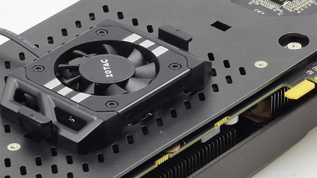 GeForce GTX 960: Zotac kühlt Nvidia-Grafikkarten auch von hinten