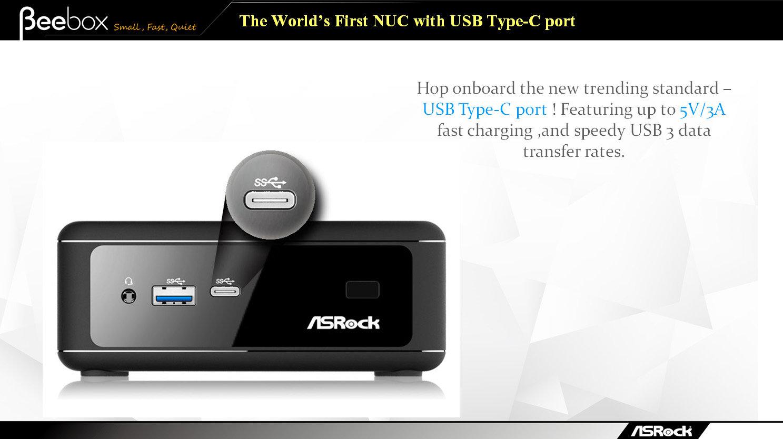 ASRock Beebox mit USB 3.0 Typ C