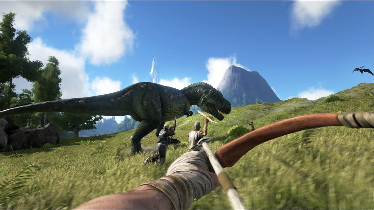 ARK: Survival Evolved: Survival-MMO lässt Spieler auf Dinosauriern reiten