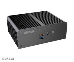 Überdurchschnittlich kompaktes NUC-Gehäuse für lautlose Mini-PC