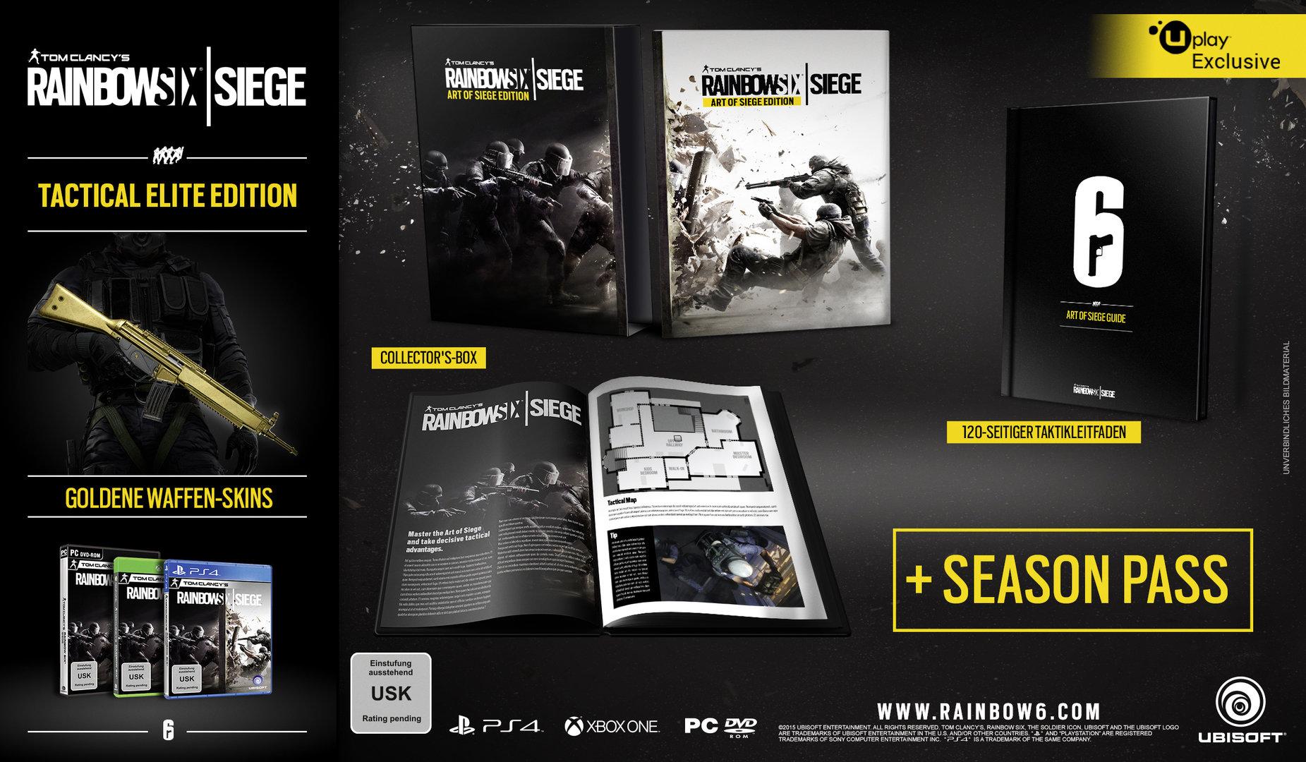 Tom Clancy's Rainbow Six Siege – Tactical Elite Edition