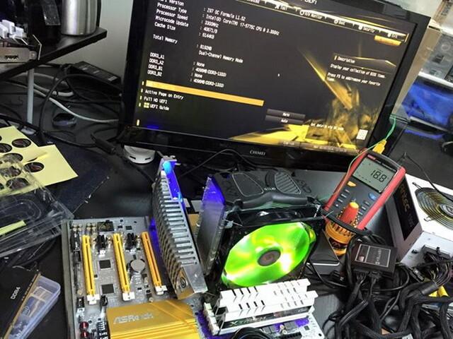 Broadwell übertaktet auf 5,0 GHz