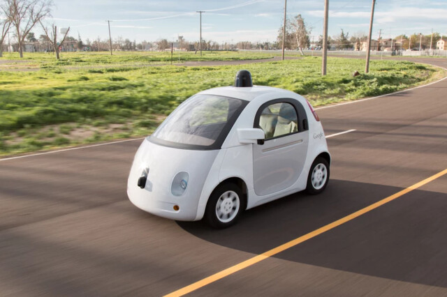 Google Self Driving Car Prototyp