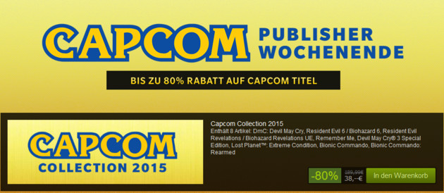 Capcom Wochenende mit der Capcom Collection 2015