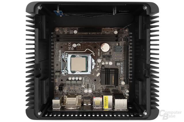 Nanum SE-TC5 – Mainboard eingebaut