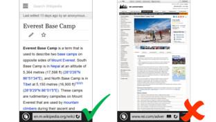 Bing für mobile Endgeräte – die Lesbarkeit von Texten ist ausschlaggebend für eine bessere Klassifizierung