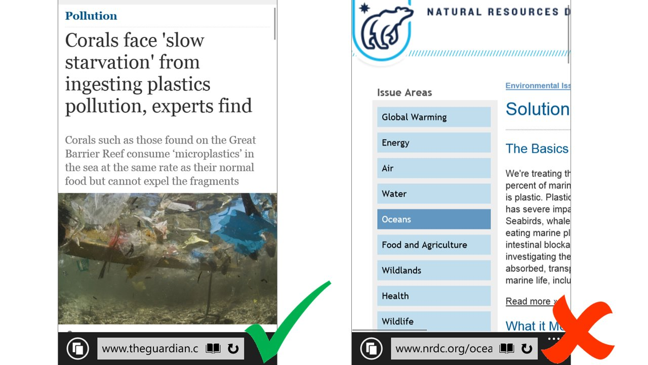 Bing für mobile Endgeräte – Anpassung der Seitenbreite ist wichtiges Kriterium für ein höheres Ranking