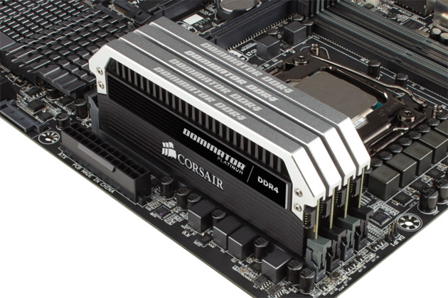Corsair Dominator Platinum DDR4-DIMM-Kit mit 128 Gigabyte