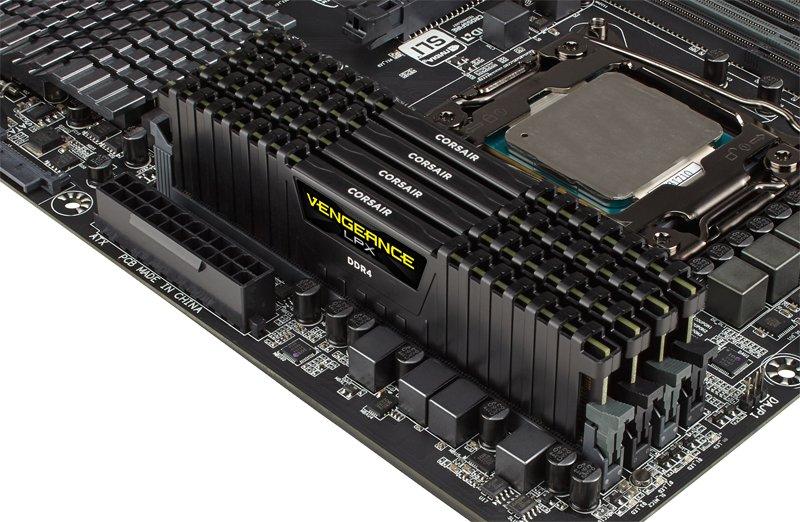 Corsair Vengeance LPX DDR4-RAM-Kit mit 8 Modulen zu je 16 Gigabyte