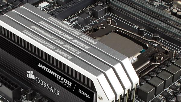 Dominator DDR4-2.666: RAM-Kits mit 128 Gigabyte für Intels Haswell-E(P) von Corsair