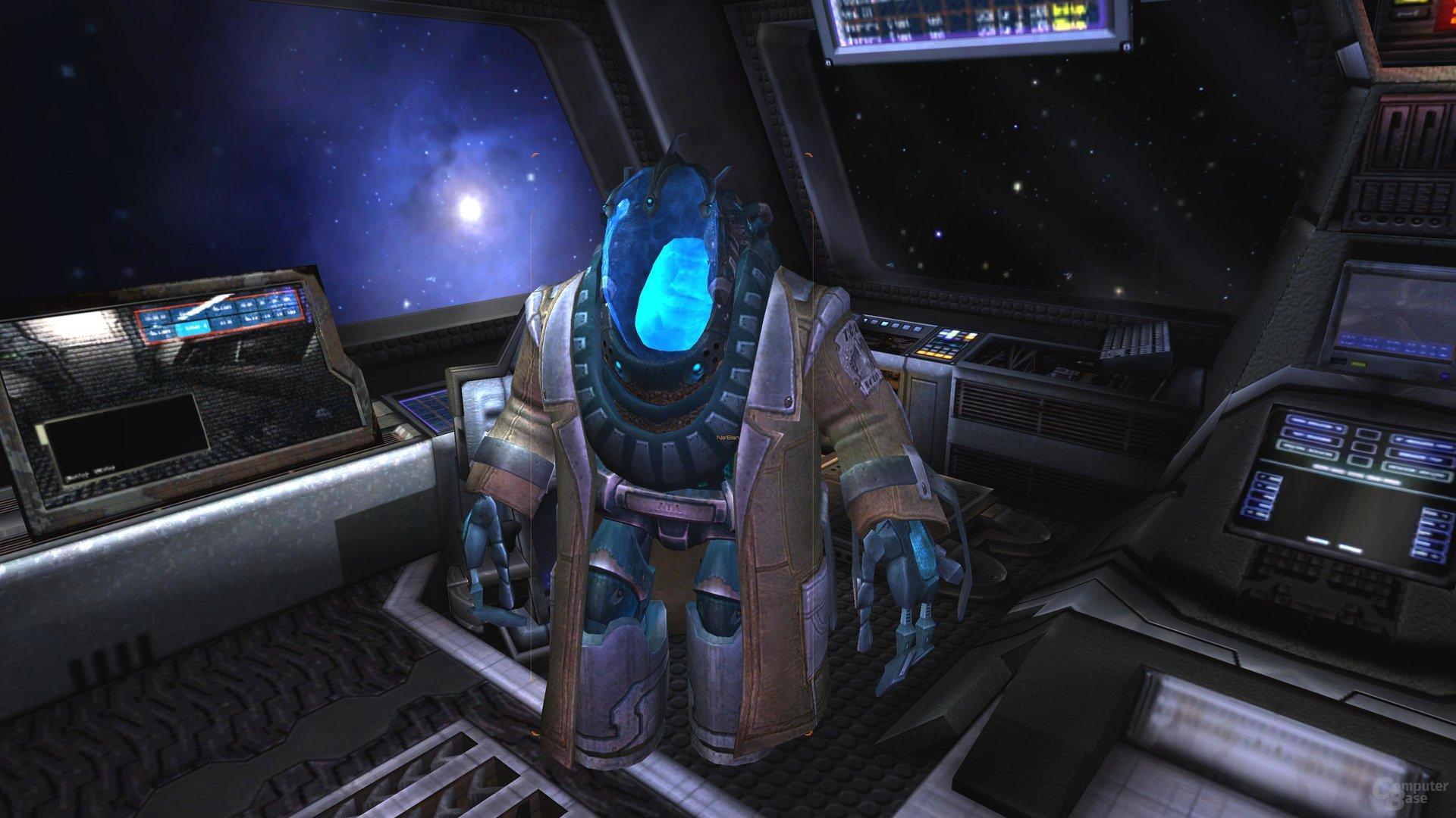 Der Alien-Pilot ist tatsächlich unterhaltsam