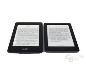 Schriftbild Kindle Paperwhite vs. Kobo Glo HD