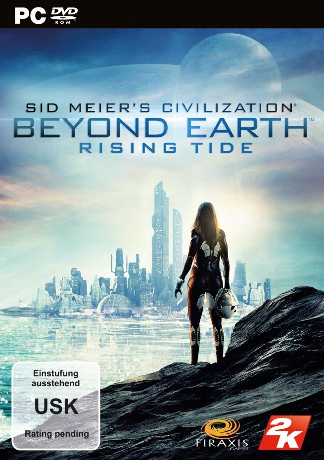 Civilization: Beyond Earth – Rising Tide Package Shot