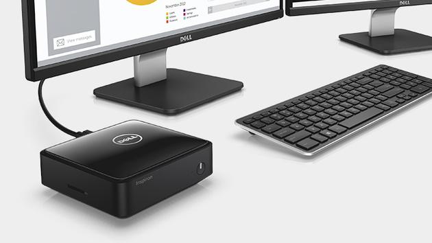 Dell: Inspiron Micro ist ein günstiger Intel-NUC-Konkurrent