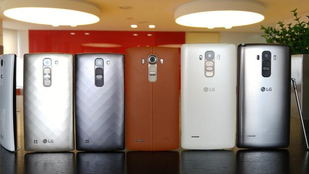 Smartphones: LG G4 Stylus und G4c als Light-Varianten des LG G4