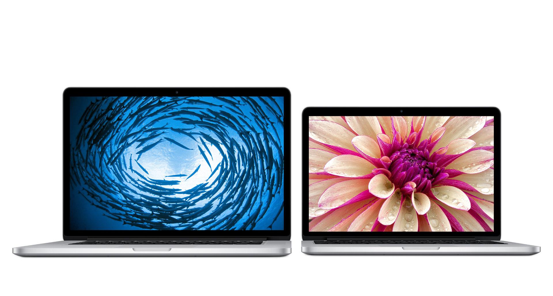 MacBook Pro 15 Zoll und 13 Zoll