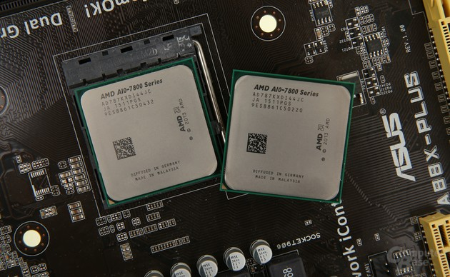 Zwei AMD A10-7870K auf Asus A88X-Plus