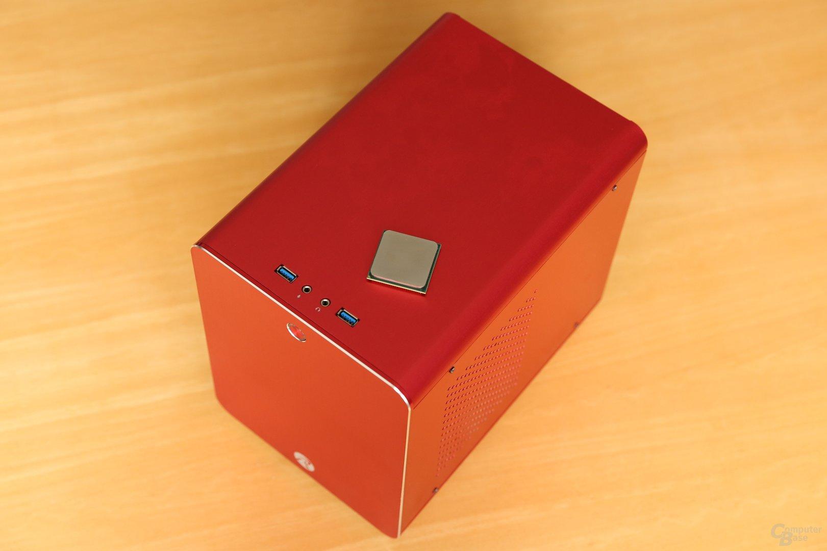 Caseking bietet zum Start ein Mini-ITX-System auf Basis der neuen APU