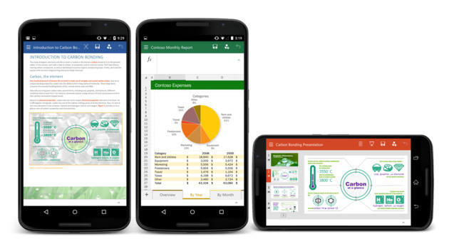 Office for Android phone Preview