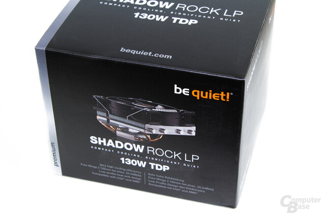 be quiet! Shadow Rock LP – Verpackung