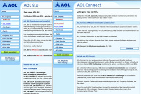 AOL Connect Homepage