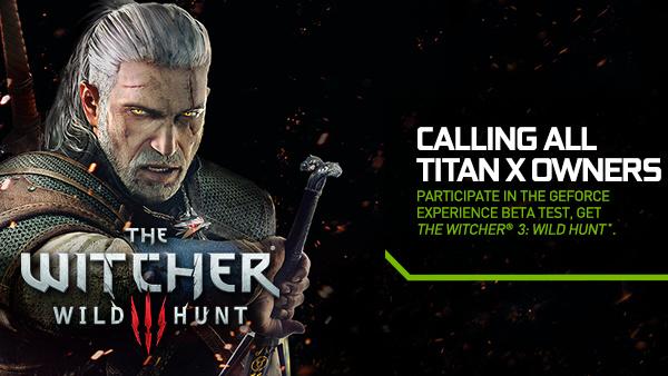 Nvidia Titan X: Code für Witcher 3 bei Teilnahme an Beta-Test