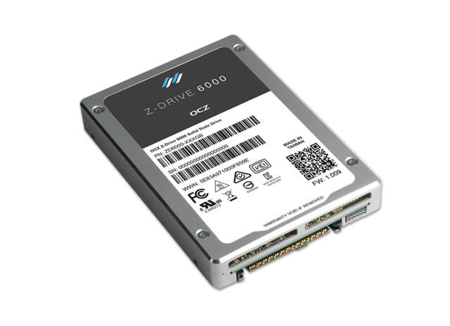OCZ Z-Drive 6000 mit PCIe 3.0 x4 und NVMe
