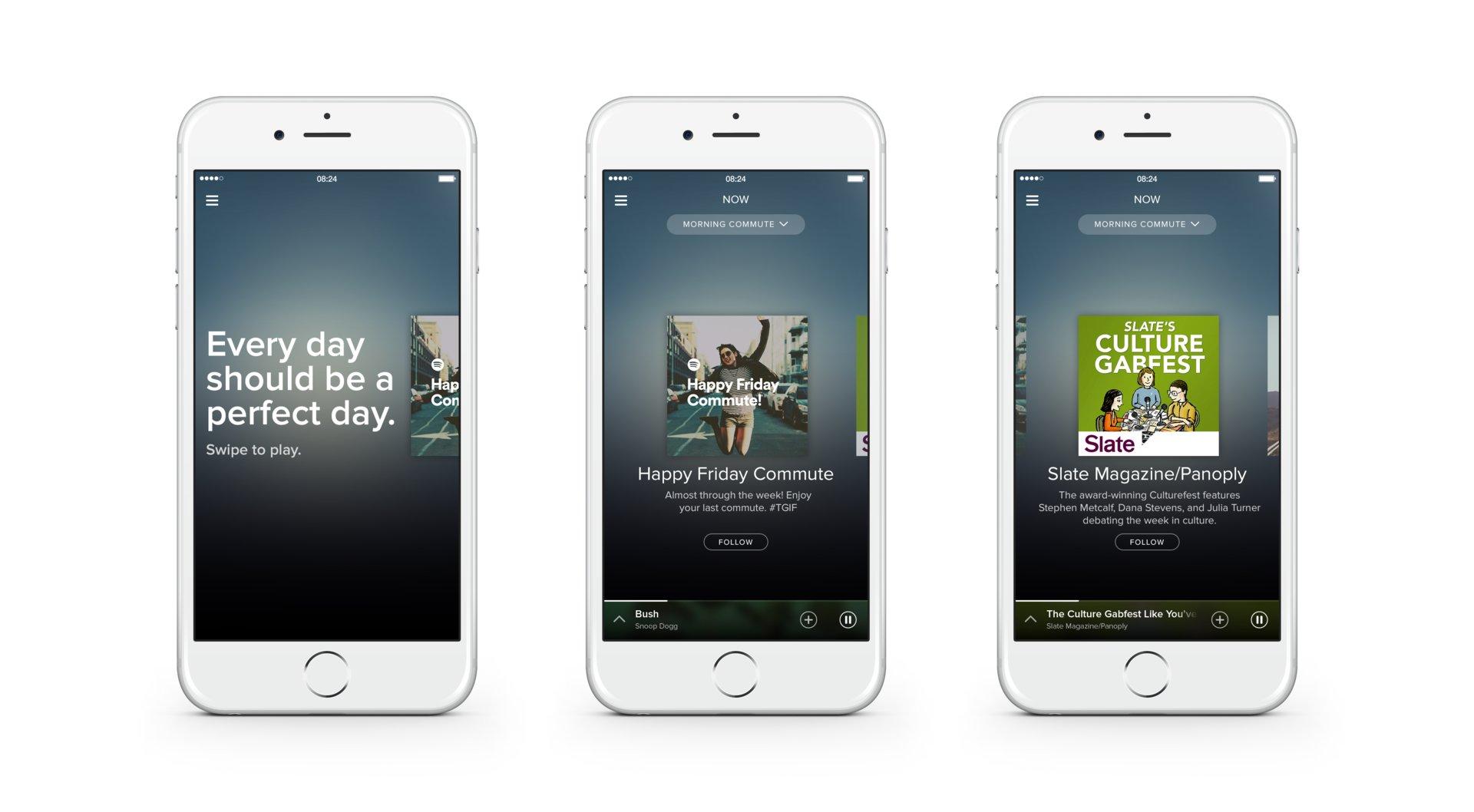 Spotify Now Commute