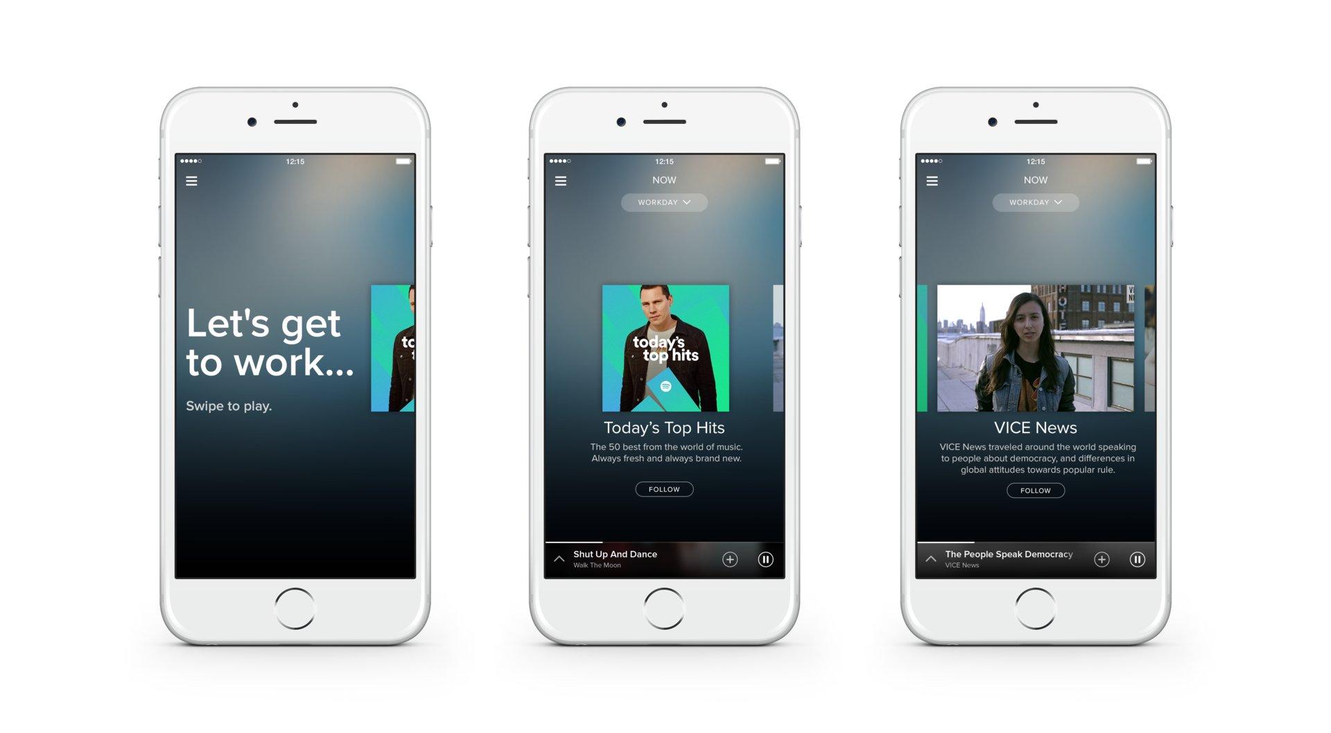 Spotify Now Workday