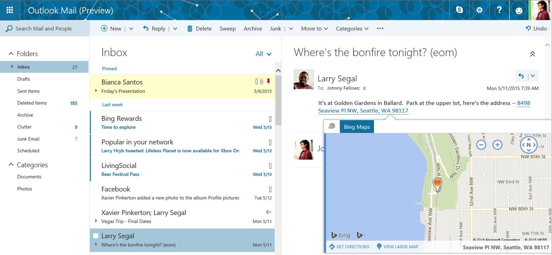 Das neue Add-in für Bing Maps