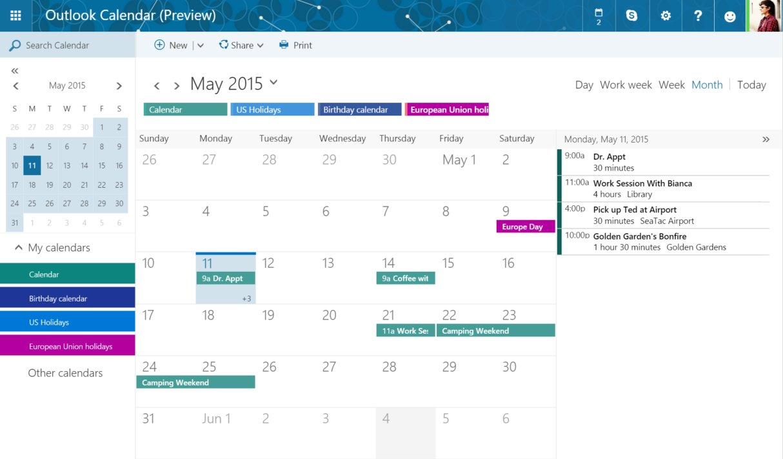 Outlook Kalender