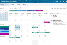 Outlook Kalender