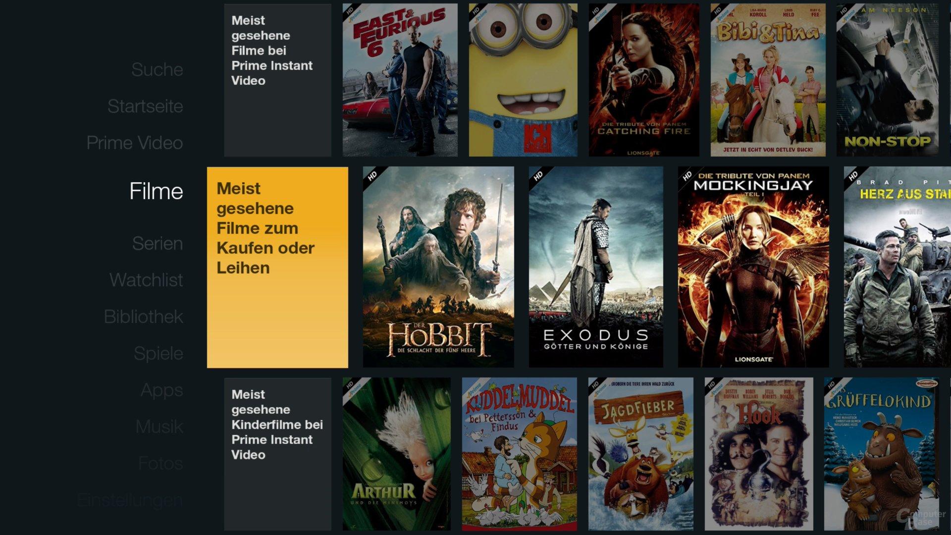 Amazon Fire TV Stick – Filme