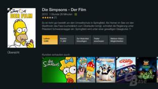 Amazon Fire TV Stick – Filme leihen oder kaufen