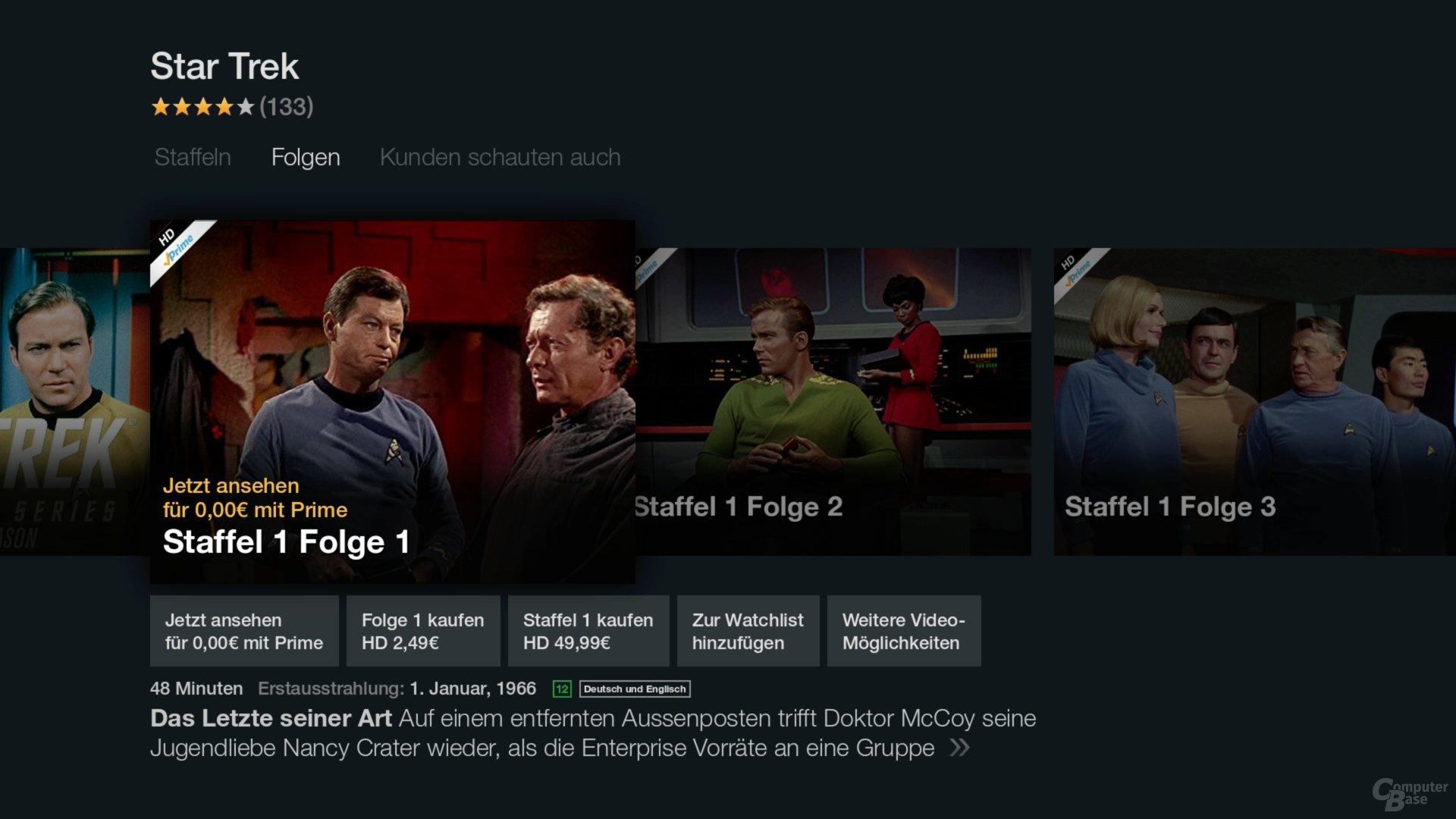 Amazon Fire TV Stick – Star Trek von 1966
