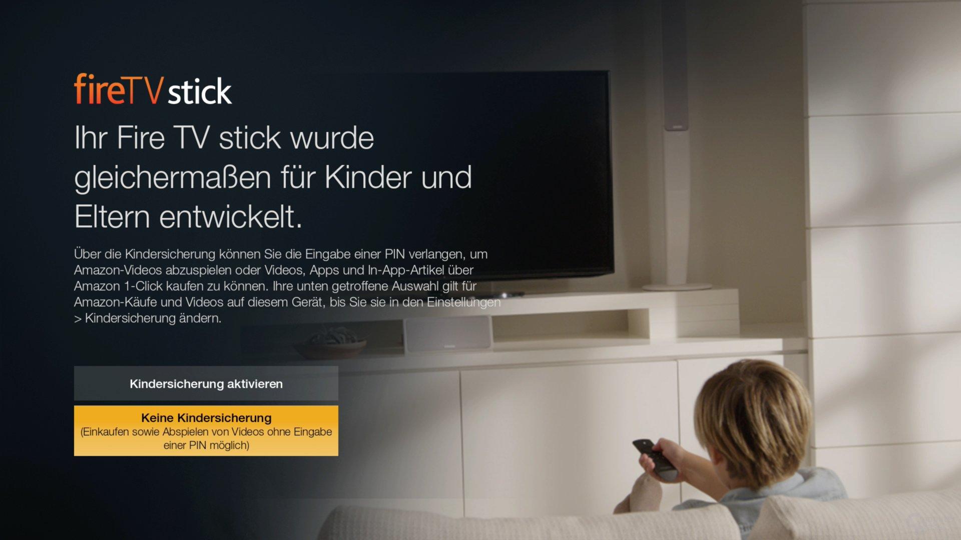 Amazon Fire TV Stick – Die Ersteinrichtung