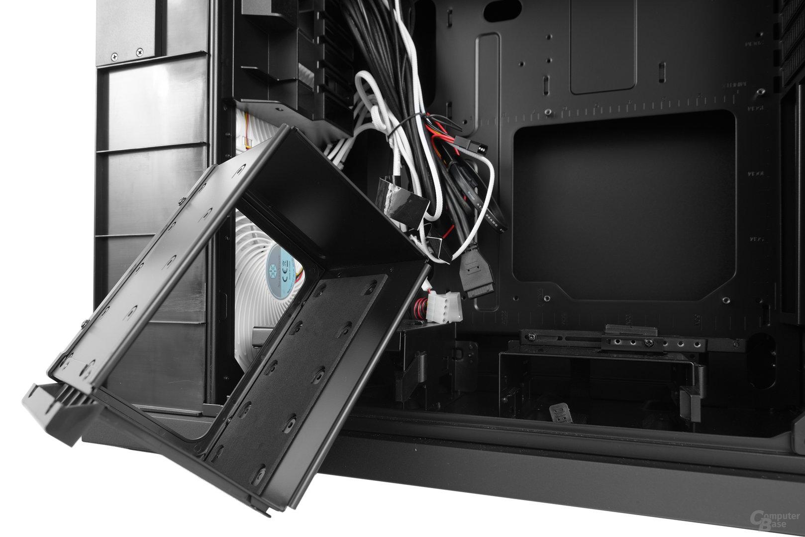 "Silverstone Mammoth MM01 – Modularer 3,5""-Festplattenkäfig"