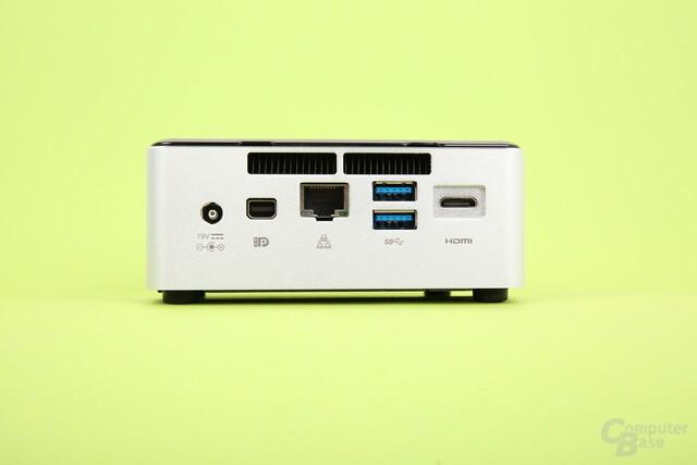 Intel NUC-Kit NUC5i7RYH – Rückseite