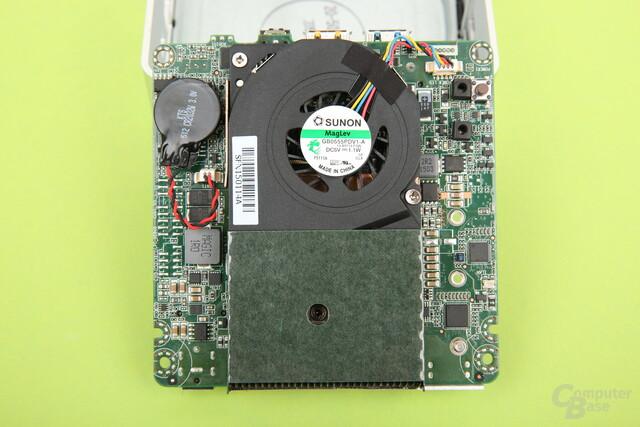 Lüfter des Intel NUC5i7RYH – identisch zum Core-i3-NUC