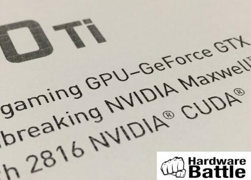 2.816 Shader für die GeForce GTX 980 Ti