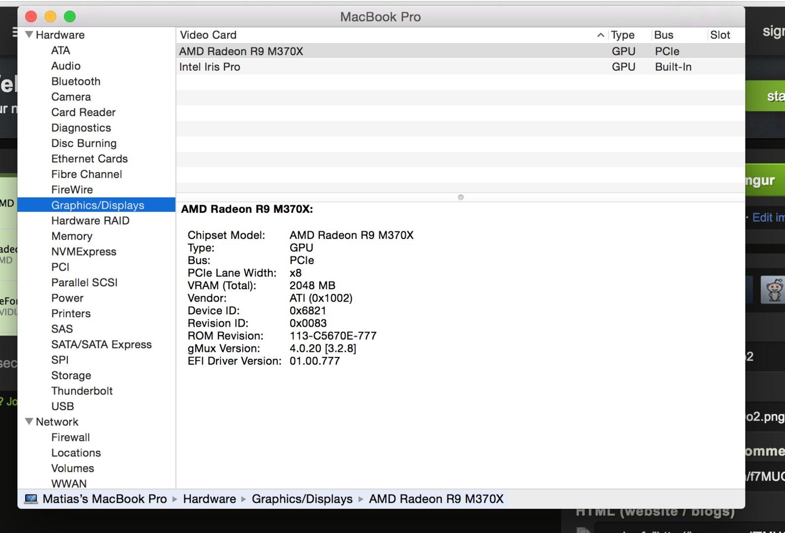 AMD Radeon R9 M370X zeigt altbekannte Device-ID